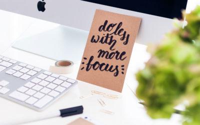 Selbstmanagement mit dem richtigen Tagesplaner