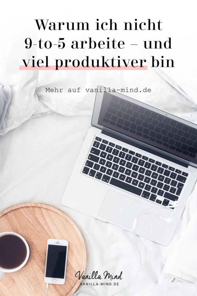 Nicht von morgens bis abends arbeiten? Wie soll das denn gehen? #Produktivität #Zeitmanagement #Zeit #Persönlichkeit #Homeoffice #Arbeit
