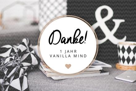 1 Jahr Vanilla Mind - www.vanilla-mind.de