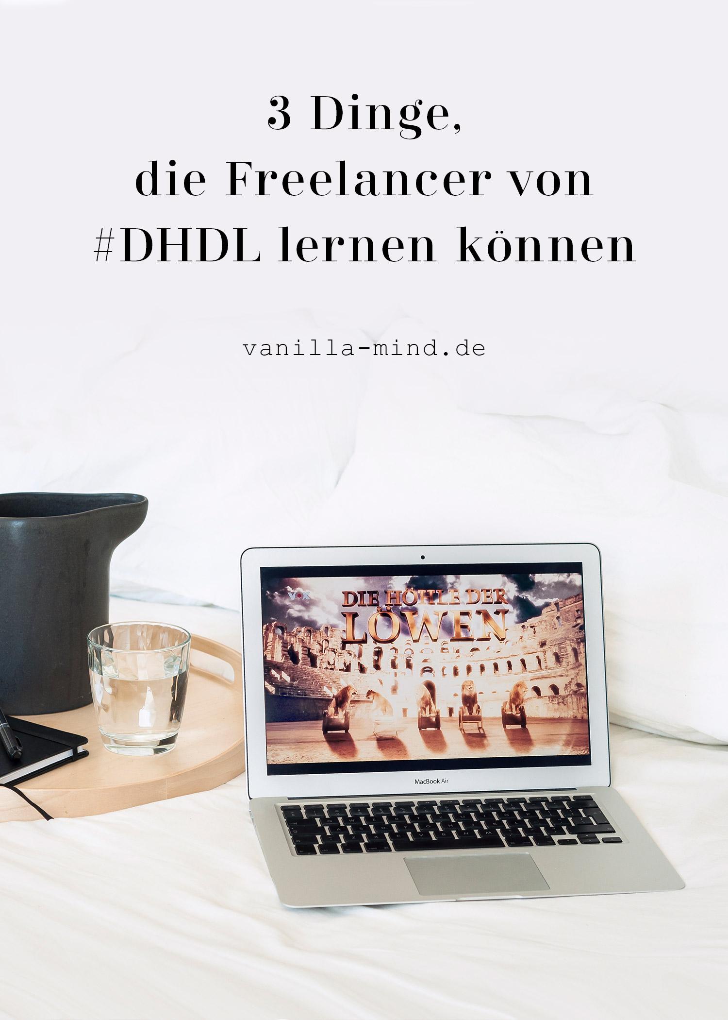 Für mich ist #DHDL mehr als Unterhaltung mit markigen Sprüchen. Ich habe einige Punkte entdeckt, von denen jeder lernen kann! #business #arbeit #job #freelancer