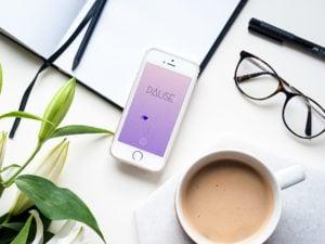 Selbstversuch: Die Pause App Pause App zur Entchleunigung | vanilla-mind.de