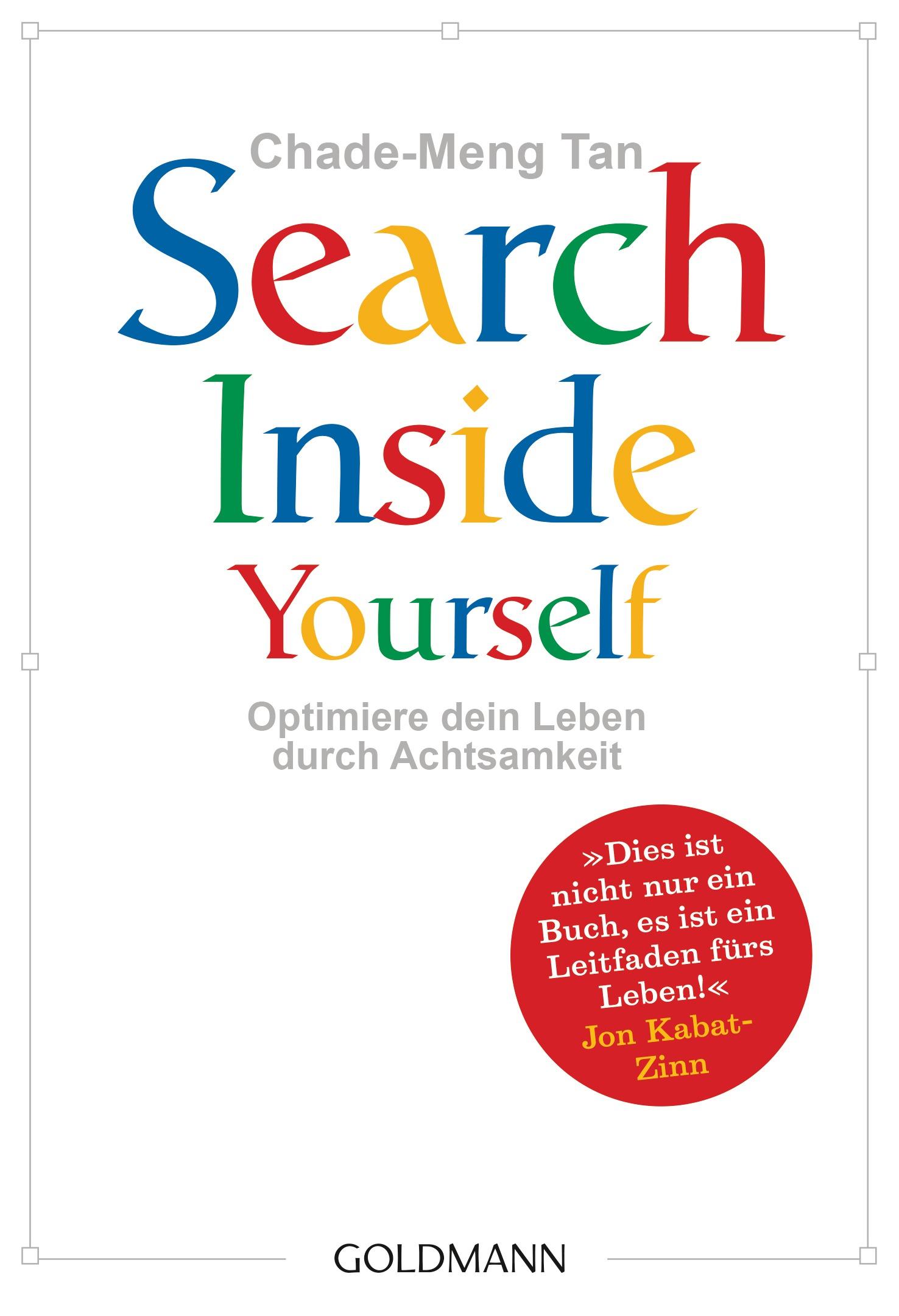 """""""Search Inside Yourself"""" von Chade-Meng Tan / #Buchtipps für einen achtsamen Lesewinter."""