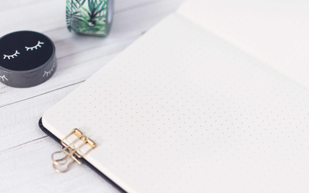 Unser Achtsamkeitsprojekt 2020: Darum lohnt sich ein Bullet Journal