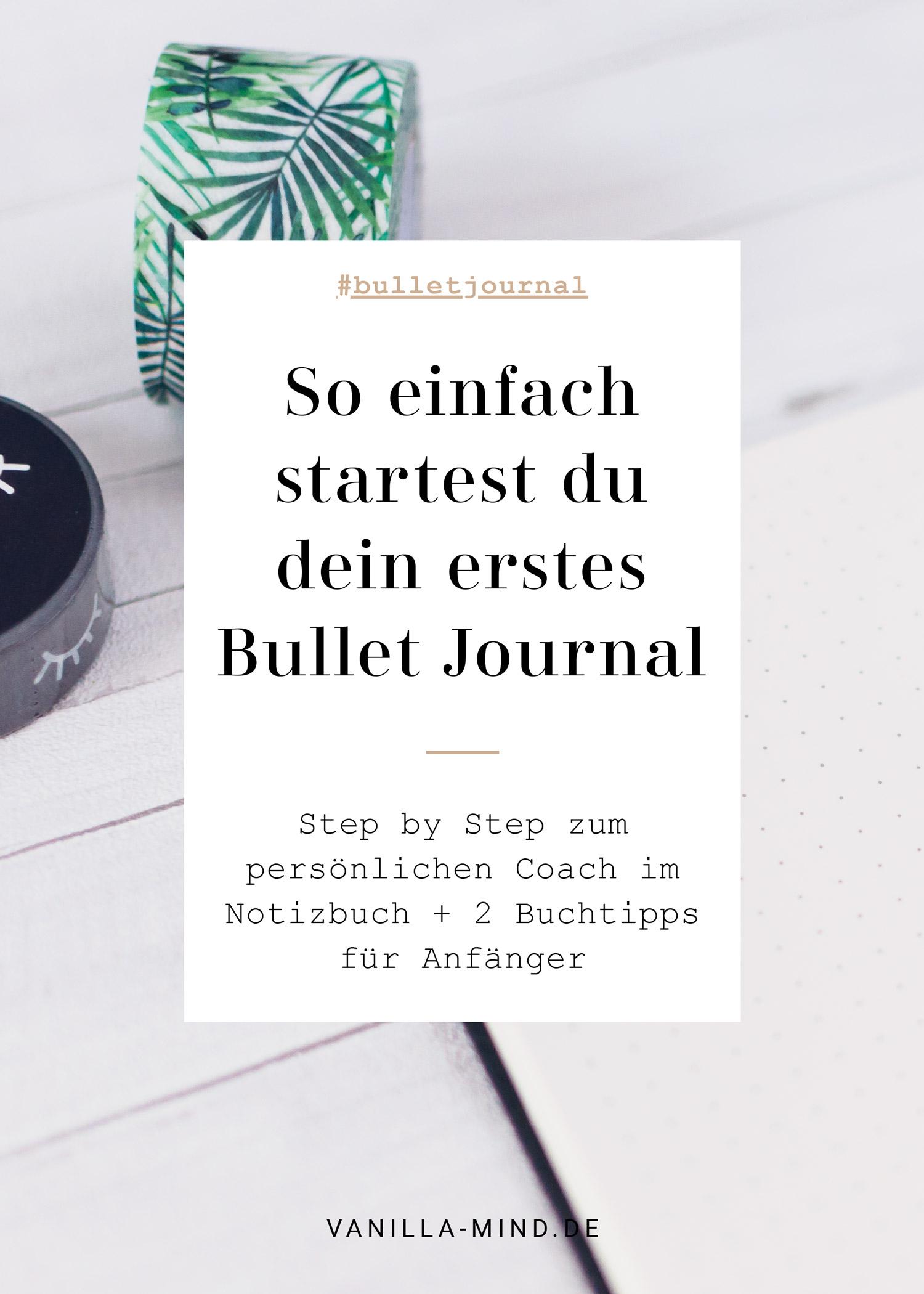 Bullet Journaling ist tatsächlich viel einfacher, als ich dachte. Ich ließ mich lange davon abschrecken, weil ich dachte, ich müsste ein komplett neues System erlernen. Auch sah ich die schönsten Layouts auf Instagram und Pinterest herumgeistern und fühlte mich komplett überfordert. #bujo #bulletjournal #planwithme #gestaltedeinjournal #teaandjournal #anleitung #buchtipp #anfänger