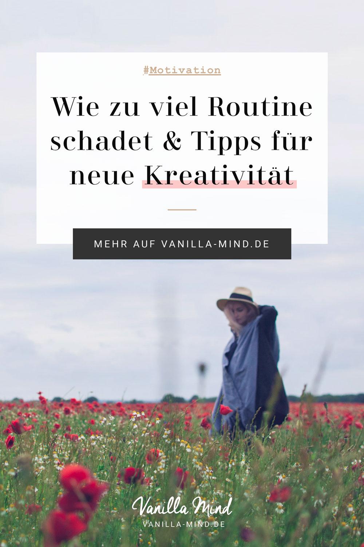 """Fühlt sich dein Leben manchmal so an, als wäre es im Modus """"Autopilot""""? Zu viel Routine kann uns schaden. Uns fehlt Motivation und das Gehirn wird träge. #routine #durchbrechen #alltag #stress #frust #langweilig #monoton #motivation #kreativität"""