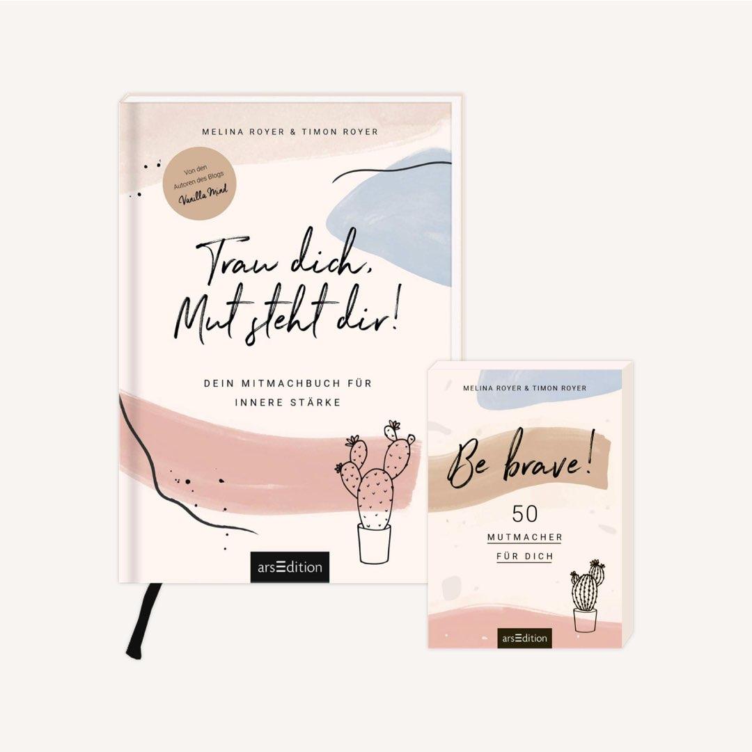 Buchtipp zum Selbstvertrauen stärken: Trau dich, Mut steht dir! von Timon und Melina Royer