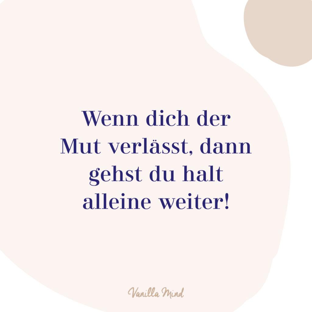 Zeit für einen Mutausbruch! #mutig #introvertiert #selbstbewusstsein #resilienz #selbstvertrauen #vanillamind #stillundstark #erfolg #psychologie #selbständigkeit #ziele #mut #mutausbruch #spruch