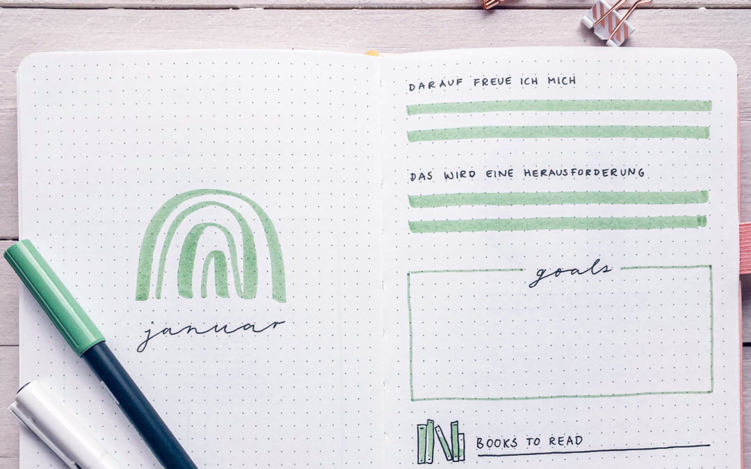 Anleitung: So startest du dein erstes Bullet Journal!