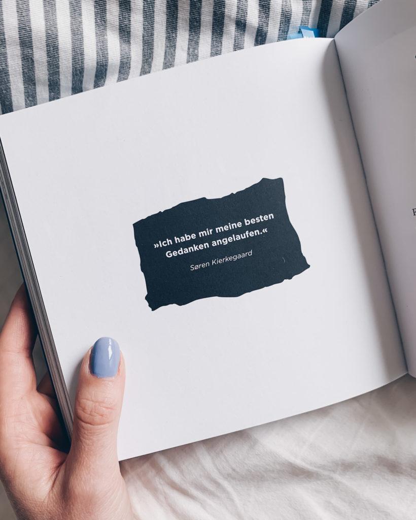 """""""Ich habe mir meine besten Gedanken angelaufen."""" - Søren Kierkegaard // #kreativsein #gibnichtauf #buchtipp #lebensweisheiten #zitat #austinkleon #stillundstark #podcast"""