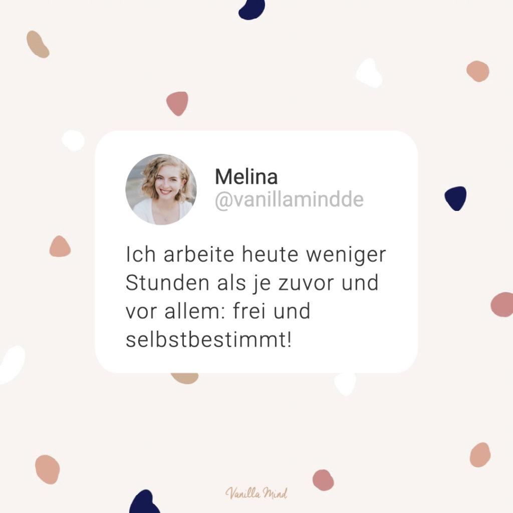 9 Vorteile der Selbstständigkeit: Ich teile 9 schöne Gründe mit dir, warum ich es so liebe meine eigene Chefin zu sein… #stillundstark #vanillamind