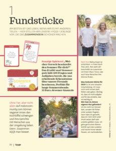 Vanilla Mind im Hygge Magazin 4-21